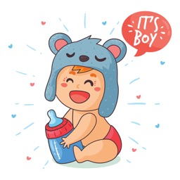 Baby Cam Pregnancy Stickers