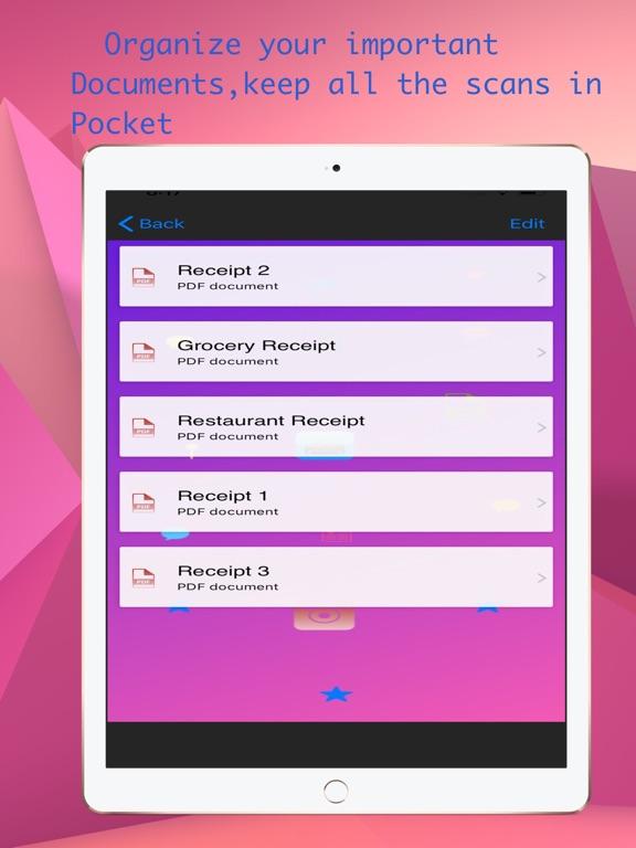 PDF Scanner : Portable scanner Screenshots