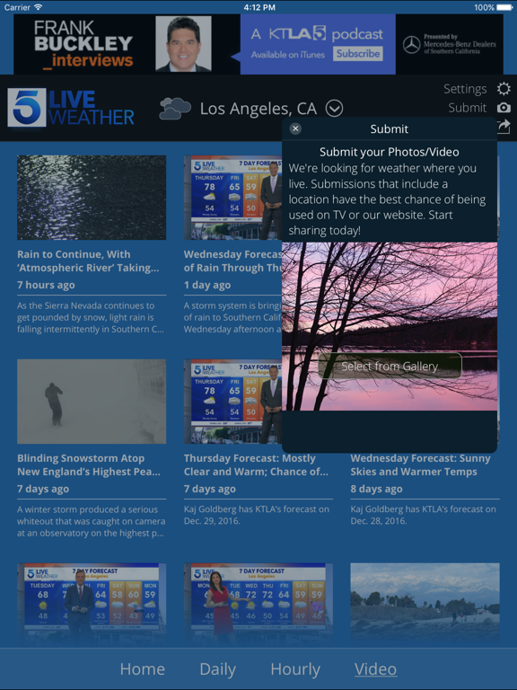 KTLA Los Angeles Weatherのおすすめ画像5