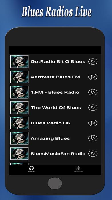 Blues Radios Live