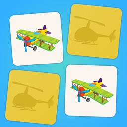 Family matching game: Planes