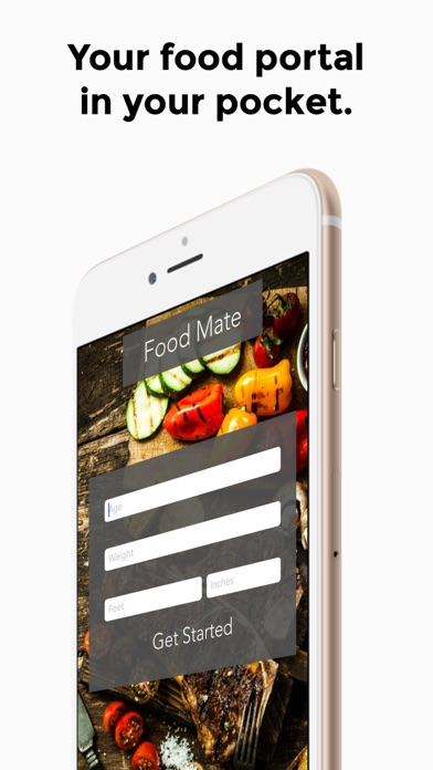 Screenshot for FoodMate - Calorie Companion in United States App Store