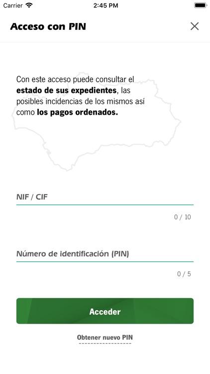 InfoPAC Andalucía screenshot-3