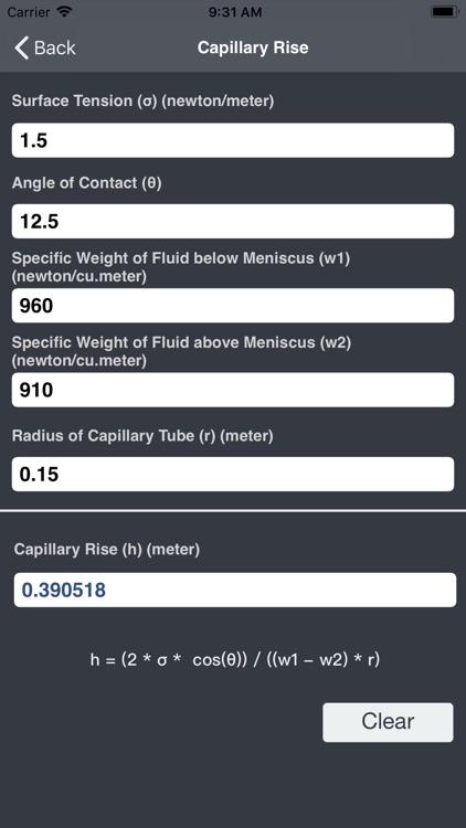 Hydraulics and Waterworks Calc screenshot-4