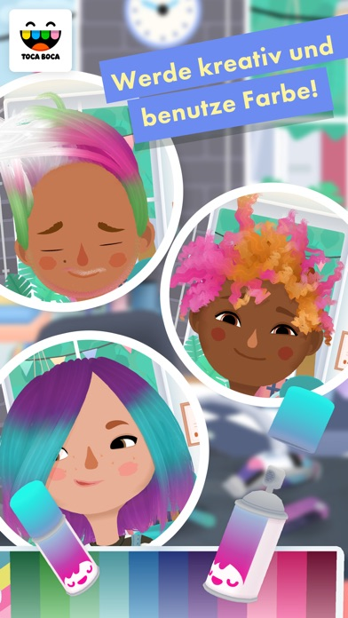 Screenshot for Toca Hair Salon 3 in Austria App Store