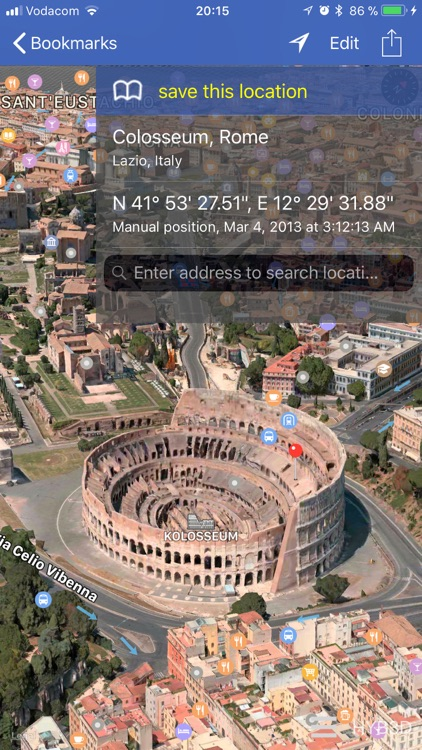 GPS location 3D/flyover screenshot-3
