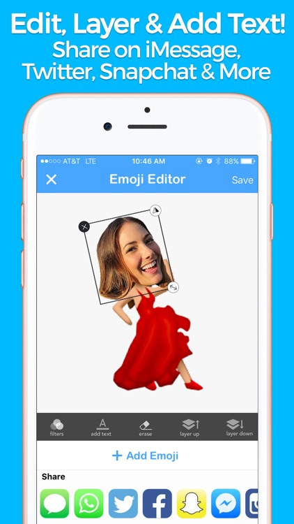 YourMoji - Custom Emojis, GIFs screenshot-4