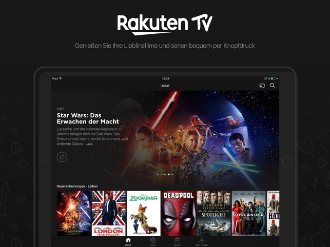 Rakuten TV Screenshot