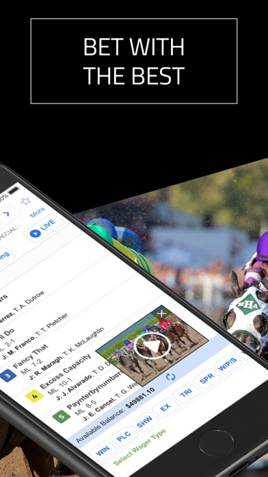 DRF - Horse Race Betting App - AppRecs