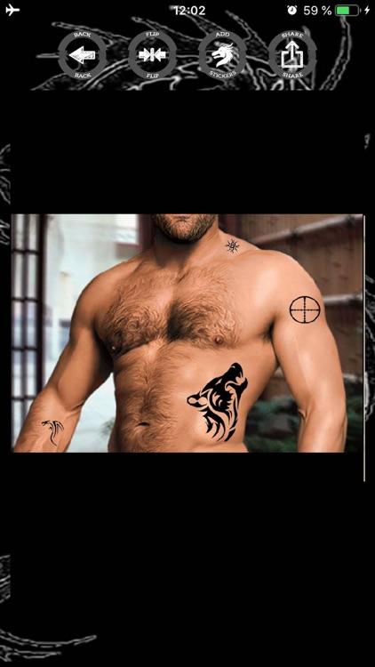 Tattoo stickers photo editor screenshot-8