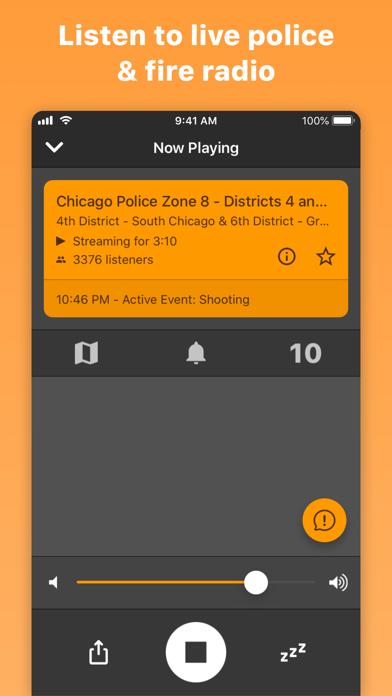 cancel Police Scanner Radio & Fire app subscription image 1