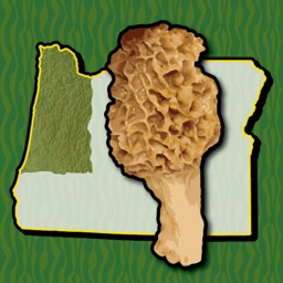 Oregon NW Mushroom Forager Map