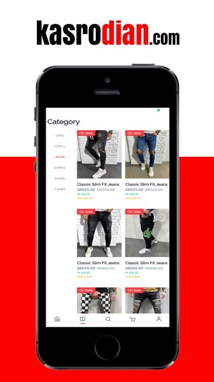 Kasrodian Online Shopping App