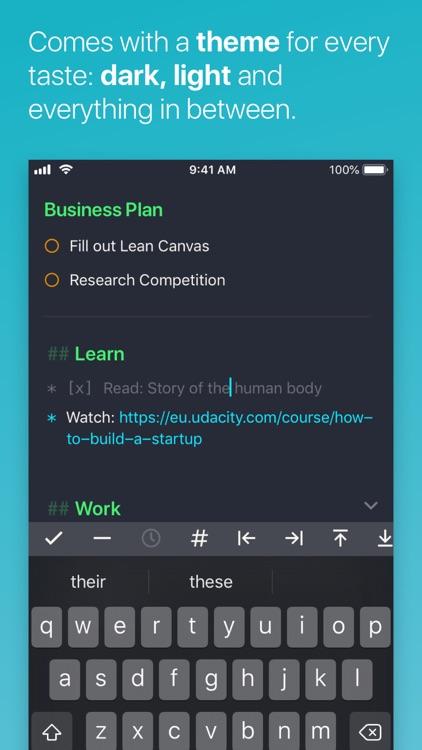 NotePlan Calendar screenshot-4