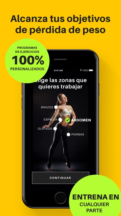 Screenshot for Yoga-Go: Ejercicios in Spain App Store