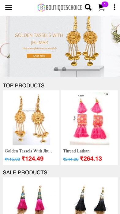 Boutiques Choice app image