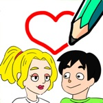 Drawing games-Draw Happy Life-