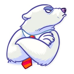 Ice Bear Stickers Pack