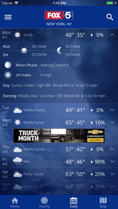 FOX 5: NY Weather & Radarのおすすめ画像4
