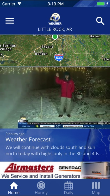 KATV Channel 7 Weather screenshot-2