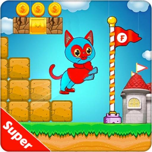 Super Hero Cat Adventure Game