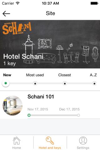Schani Mobile Key - náhled