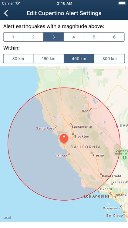 Earthquake Monitor screenshot-3