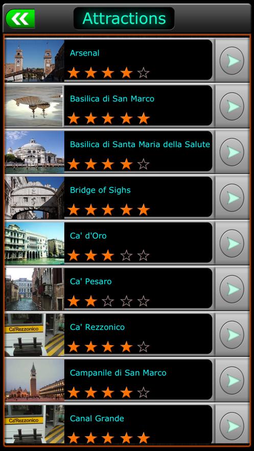 Venice Offline Travel Guide App 截图