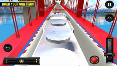 Driving Train On Impossible Tr screenshot 3