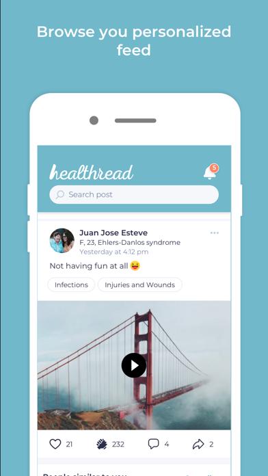Healthread screenshot #2