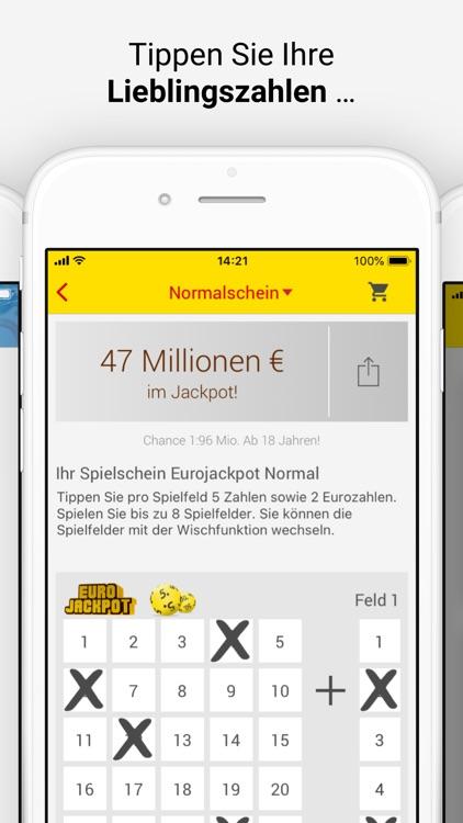 Eurojackpot und LOTTO spielen screenshot-3
