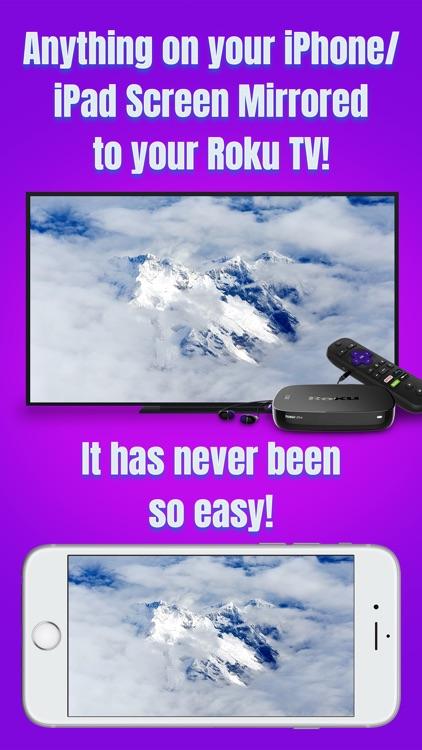 Air Mirror for Roku TV