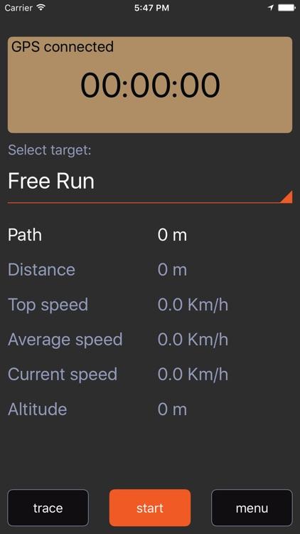 Jogging app