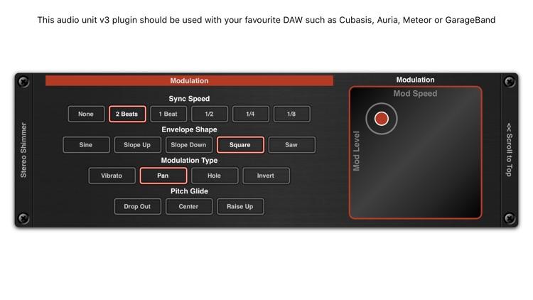 Shimmer AUv3 Audio Plugin screenshot-4