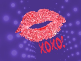 Kisses and Love Stickers