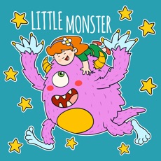 Little Monster Stickers Pack
