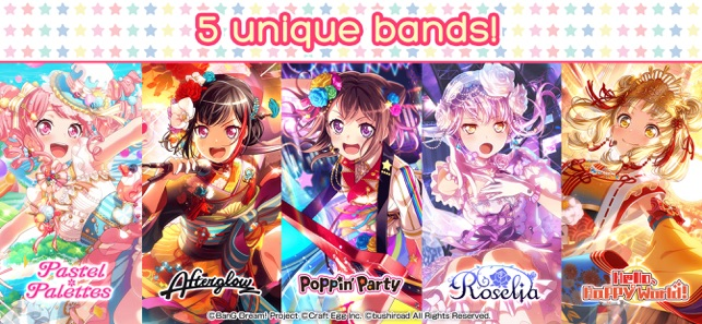 Bang Dream Girls Band Party On The App Store