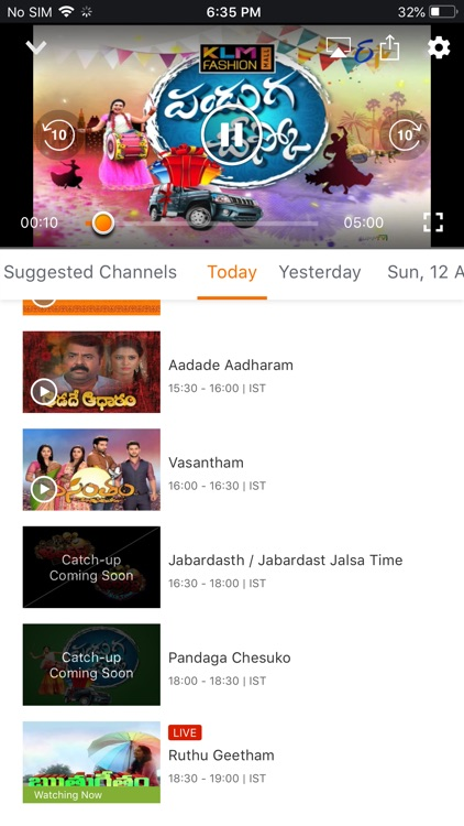 YuppTV - Live TV & Movies screenshot-5