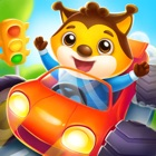 Car game for kids and toddler icon