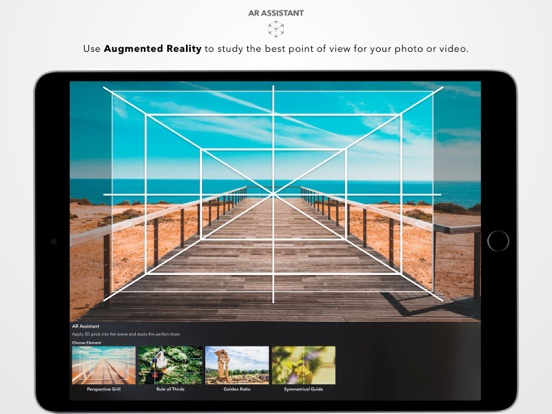 DSLR Camera ipad ekran görüntüleri