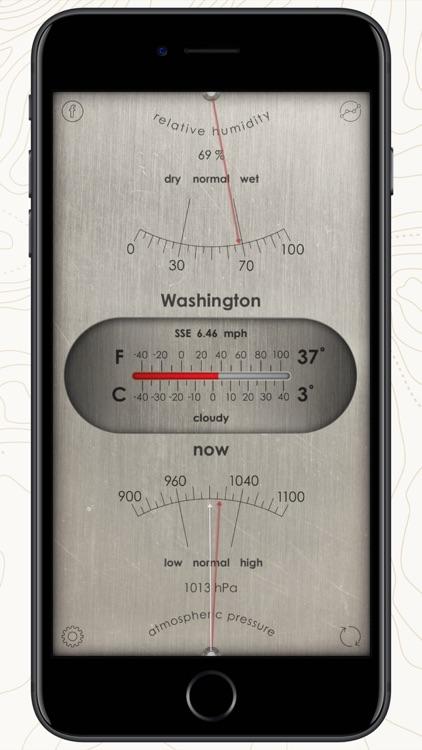 Analog Weather Station