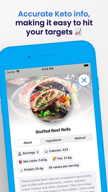 Keto Diet Recipes screenshot-3