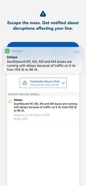 Transit • Bus & Subway Times Screenshot
