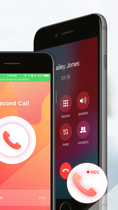Call Recorder for iPhone►iCall Screenshot