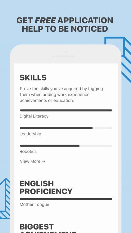Goodwall: Jobs & Scholarships screenshot-4