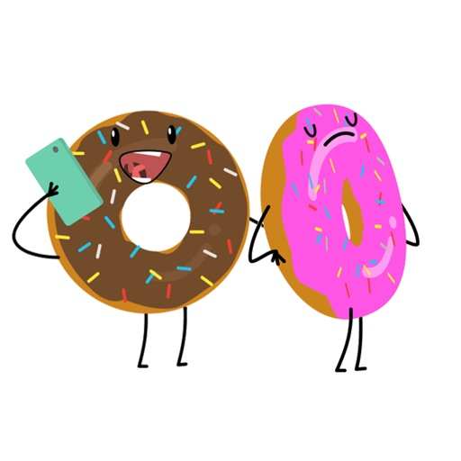 Donut Moji - Animated emojis