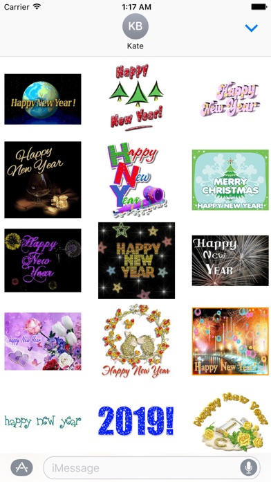 Animated Happy New Year Gif screenshot 2