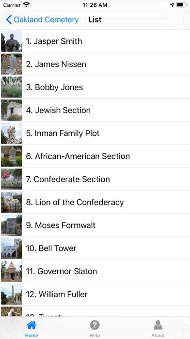 Atlantas Oakland Cemetery review screenshots
