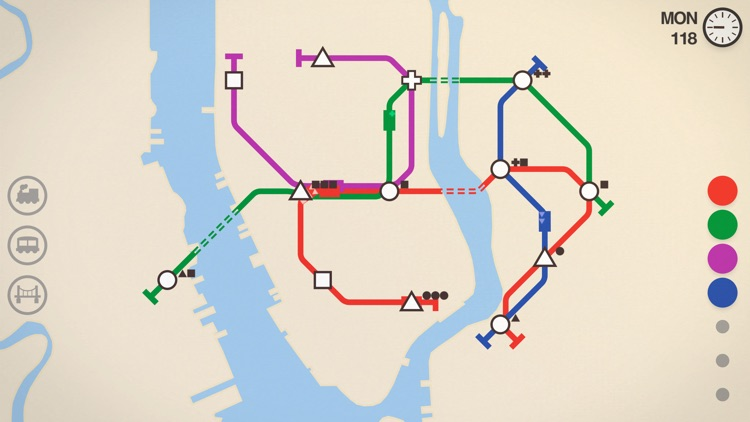 Mini Metro screenshot-0
