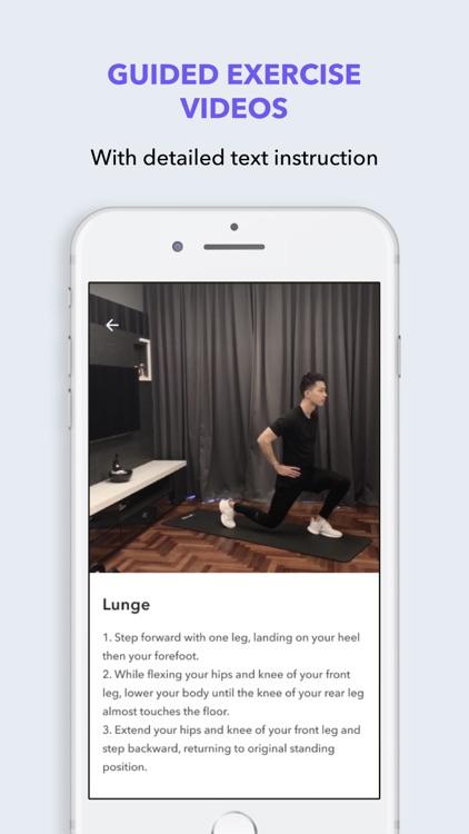 FITFIT: Home Workout & Fitness screenshot-5